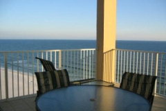 Balcony overlooking the Gulf at The Sands