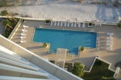 Outdoor pool at The Sands